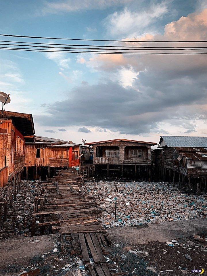 Тайна рыбацких деревень в Малайзии