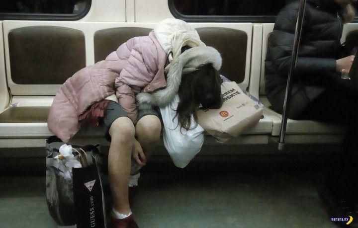 Модники в метро - 25