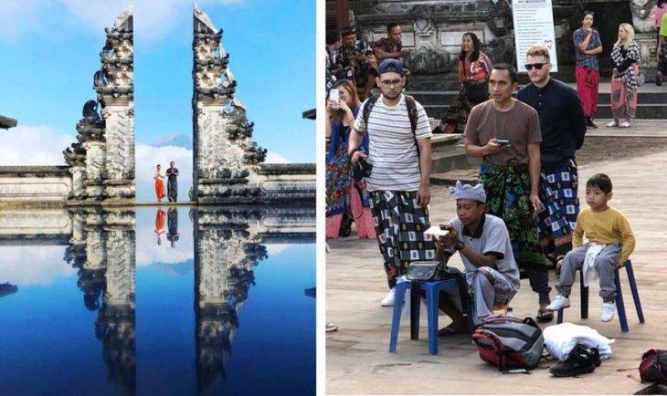 """Достопримечательность Бали """"Небесные врата"""" оказалась фейком"""
