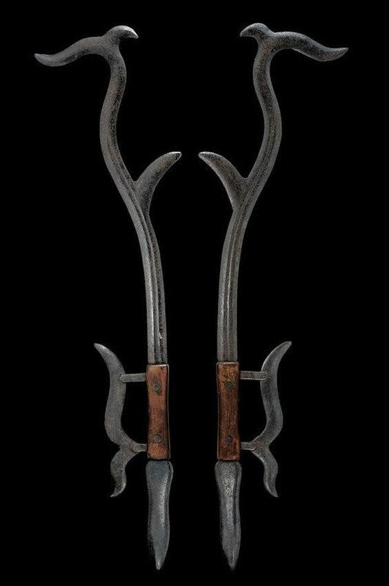 25 примеров страшного старинного оружия, от которого у вас пойдет мороз по коже-34 фото-