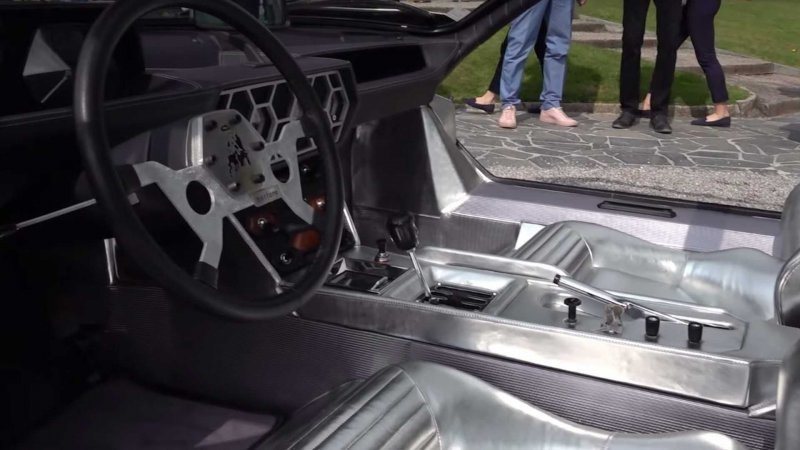 Lamborghini Marzal концепт с футуристичным дизайном 1967 года                      авто