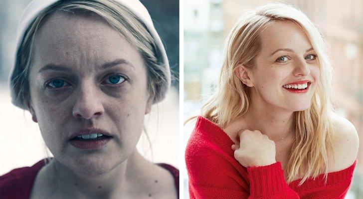 Как выглядят актеры сериала -Рассказ служанки- в реальной жизни (Спойлер: марфа Рита — огонь)