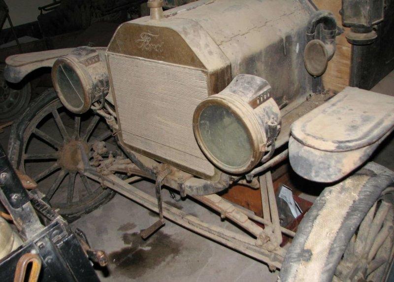 В амбаре нашли Ford Model T, которому больше 100 лет                      авто