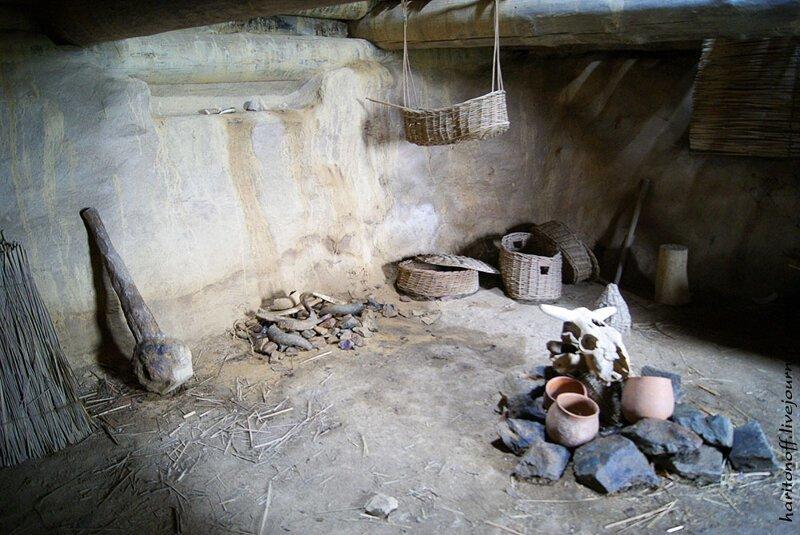 Экскурсия в жилище каменного века                      Интересное