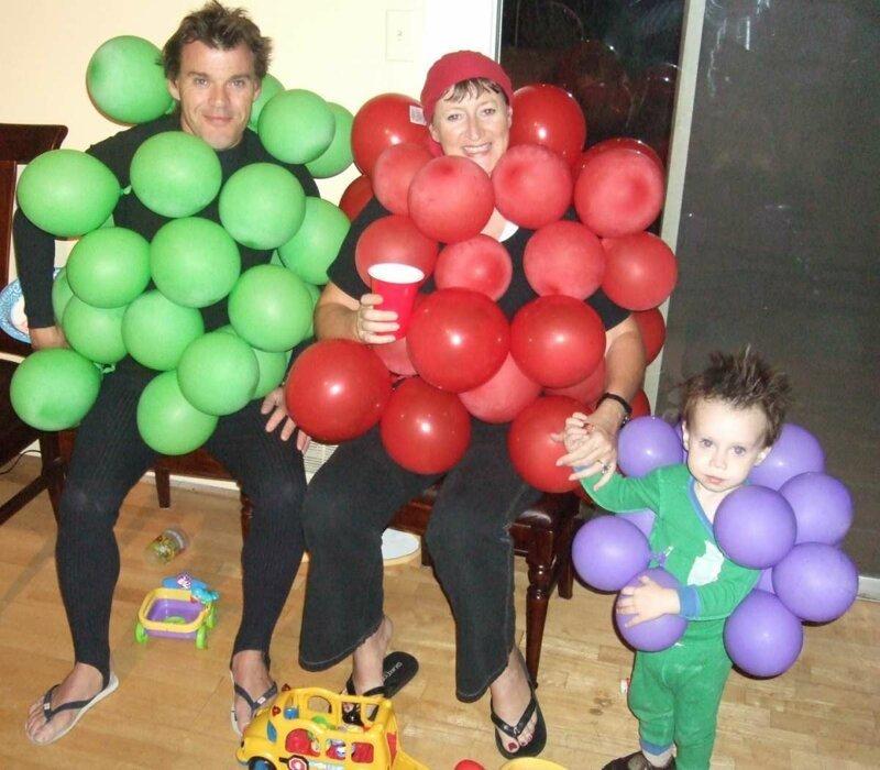 20 самых смешных и странных костюмов из воздушных шариков                      Интересное