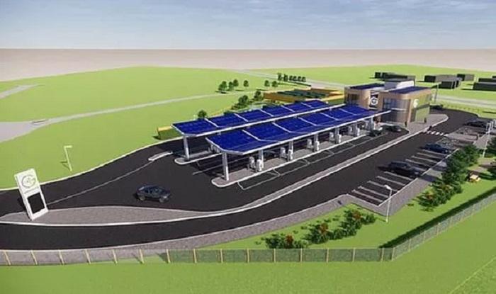 Будущие станции для зарядки электромобилей смогут зарядить машину всего за 10 минут
