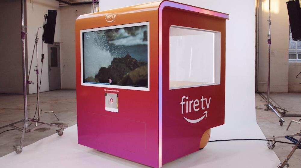 Amazon создал попкорн-аппарат, который адаптирует вкус воздушной кукурузы к атмосфере фильма Интересное