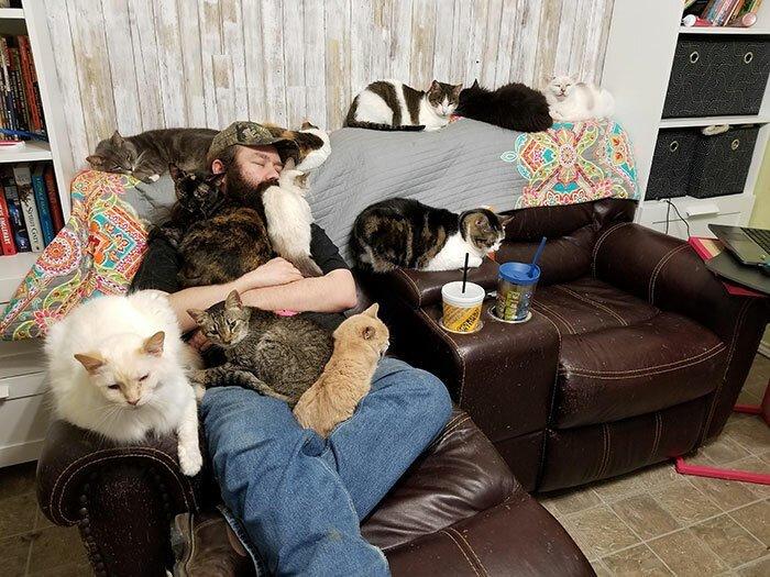 35 неожиданных и забавных снимков из приюта для животных-36 фото-