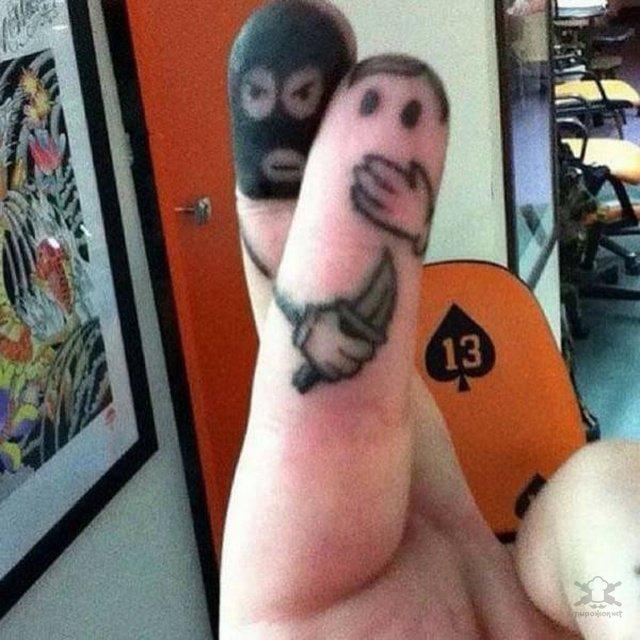Креативные и прикольные татуировки