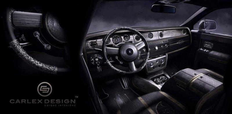 Фантазии на тему экстремального тюнинга Rolls-Royce-24 фото-