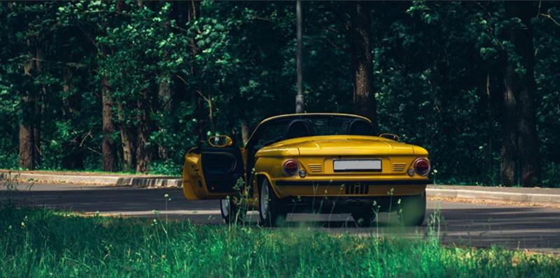 Спорткар в стиле -Запорожца- выставили на продажу-12 фото + 1 видео-