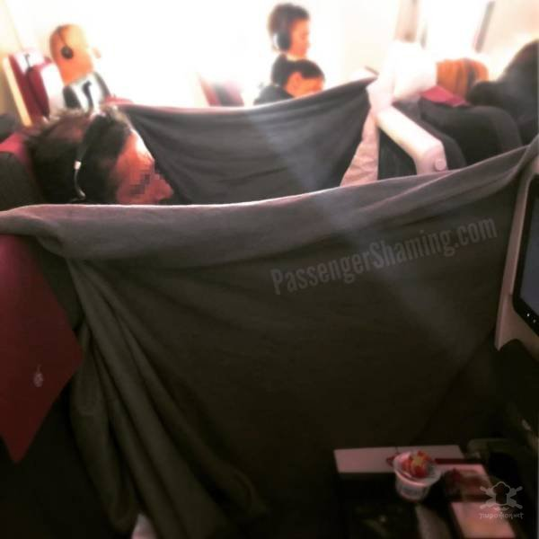 Прикольные фотографии, сделанные во время авиапутешествий