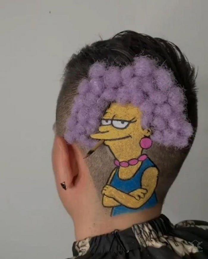 Люди которые думали, что сделали себе крутую причёску