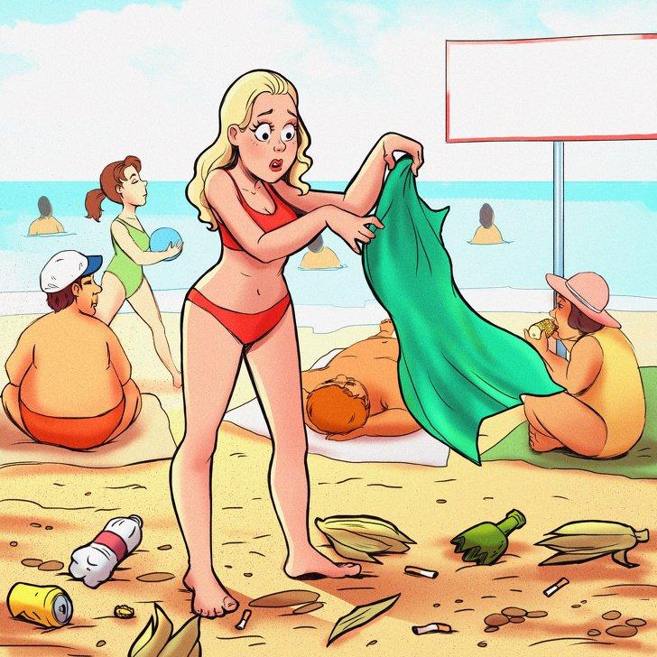 10 честных комиксов о том, что лето — это не всегда Турция или Таиланд