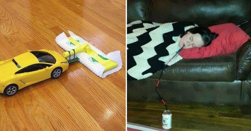 20 гениальных изобретений творческих, но ленивых людей-21 фото-