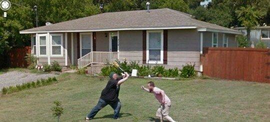 Подсмотрено через Google Street-24 фото-
