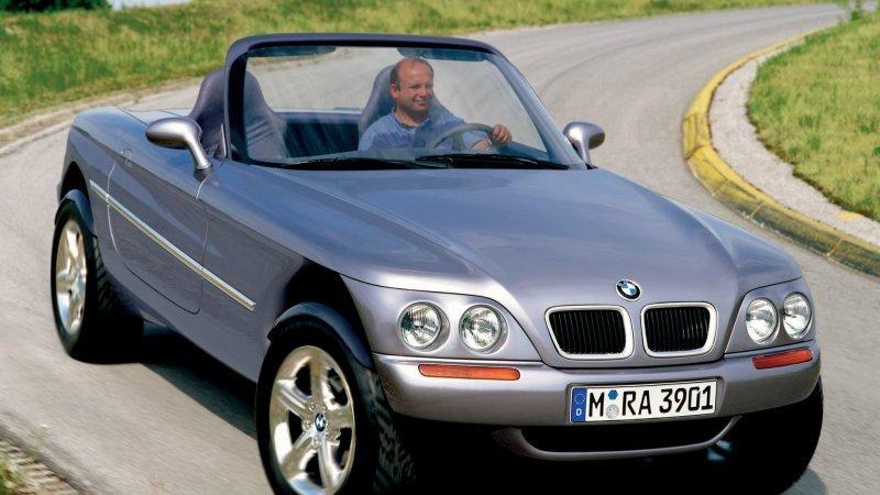 1995 BMW Z18: забытые концепт-кары-9 фото-
