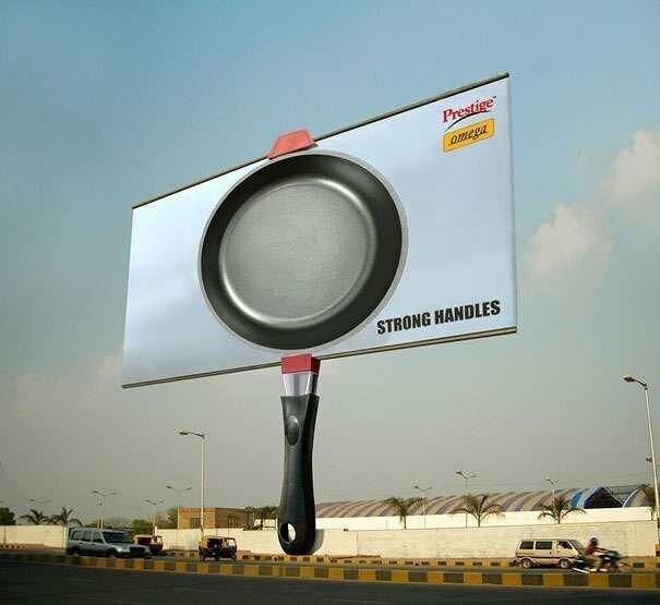 Топ самой необычное рекламы в мире-8 фото-