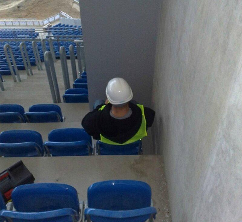Приколы, которые могли произойти только на стадионе                      Интересное