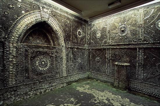 Грот ракушек в городе Маргит: загадка из глубины веков Интересное