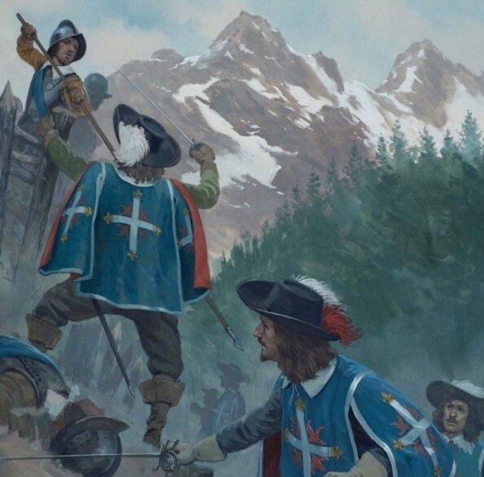 Оружие королевских мушкетеров Интересное
