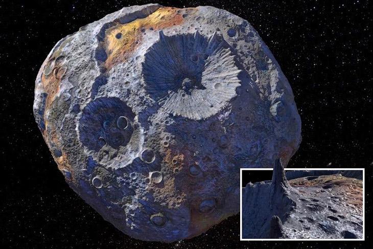 Астероид Психея стоимостью $10 000 квадриллионов