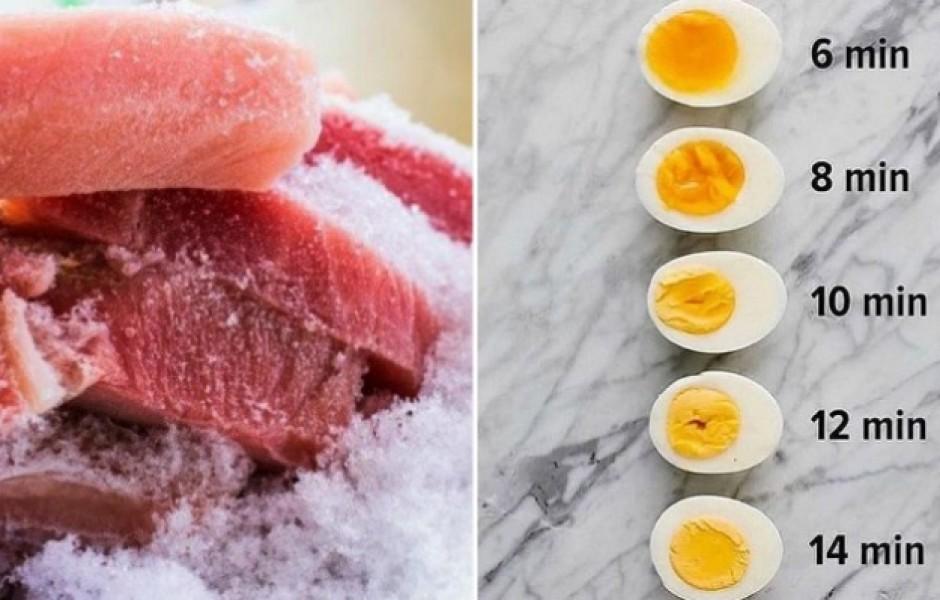 Полезные кухонные шпаргалки