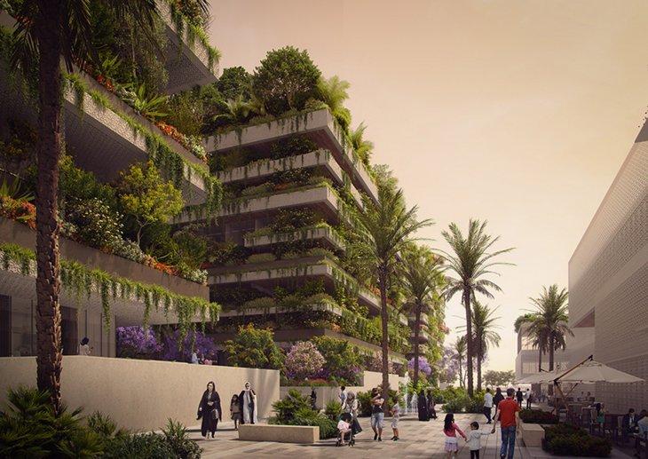 """Вертикальные """"лесные"""" жилые комплексы в Египте"""