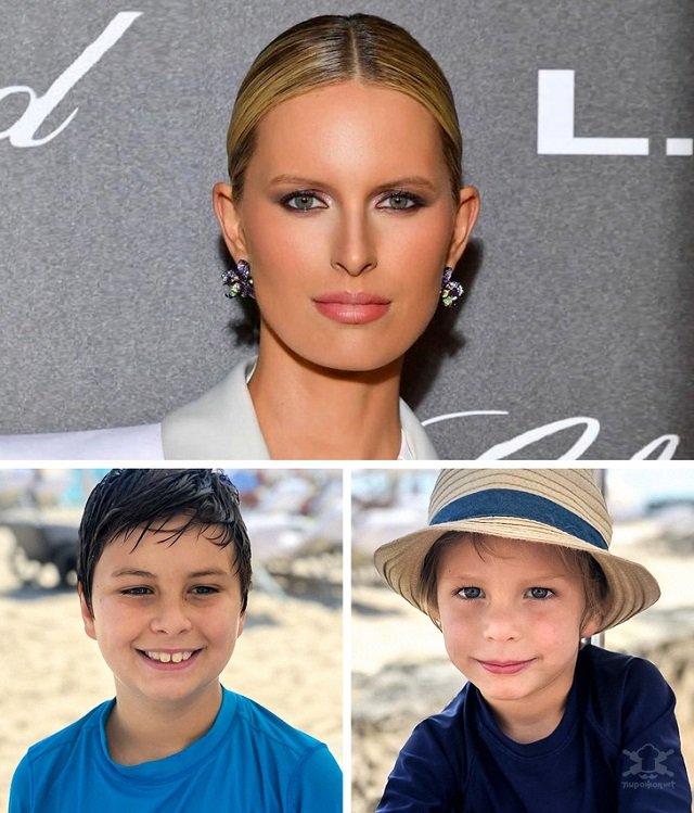 Дети самых красивых женщин современности