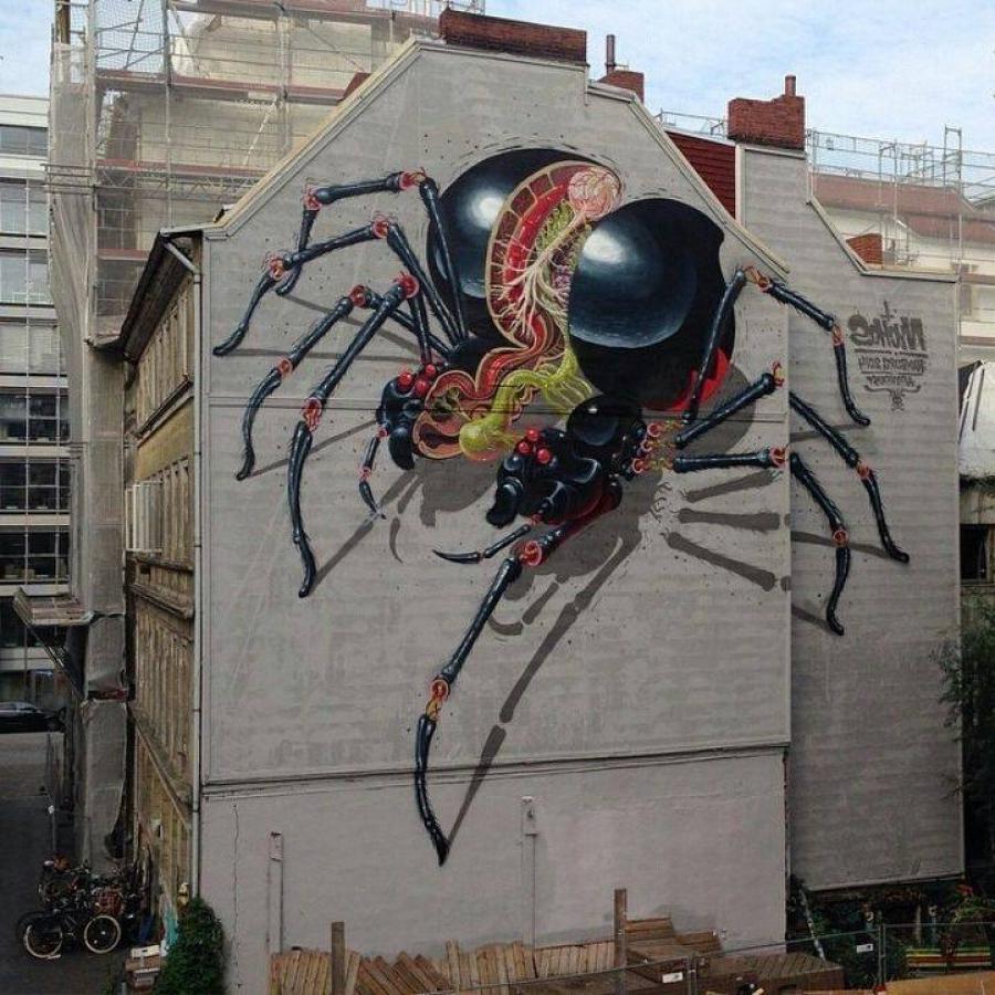 Самый необычный стрит-арт: работы этих мастеров быстро облетели весь интернет