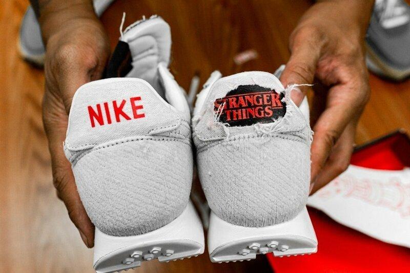 Nike создали «горящие» кроссовки к сериалу «Очень странные дела»                      Интересное
