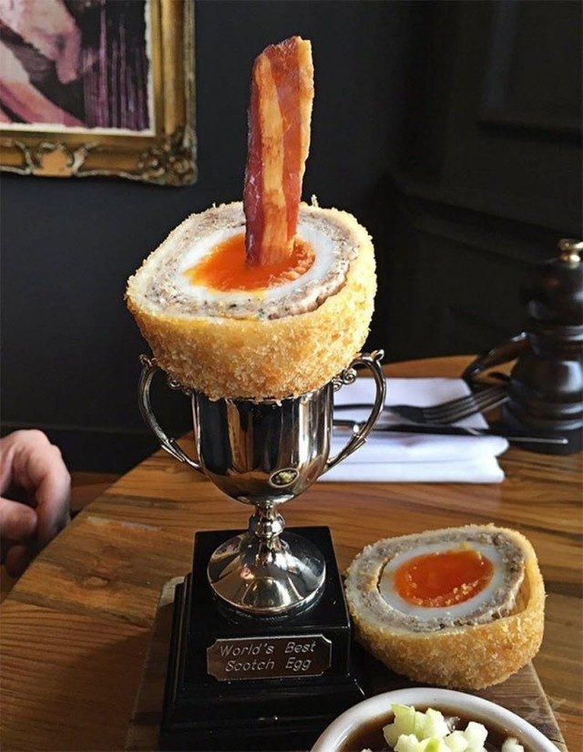 Самая необычная и странная подача блюд