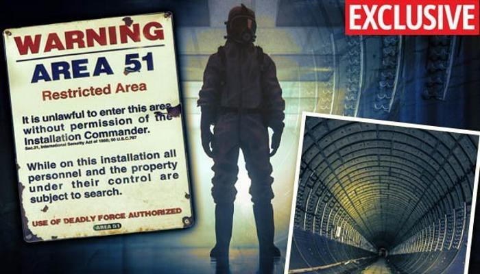 Как устроен секретный подземный город под Зоной 51 -+2 видео-