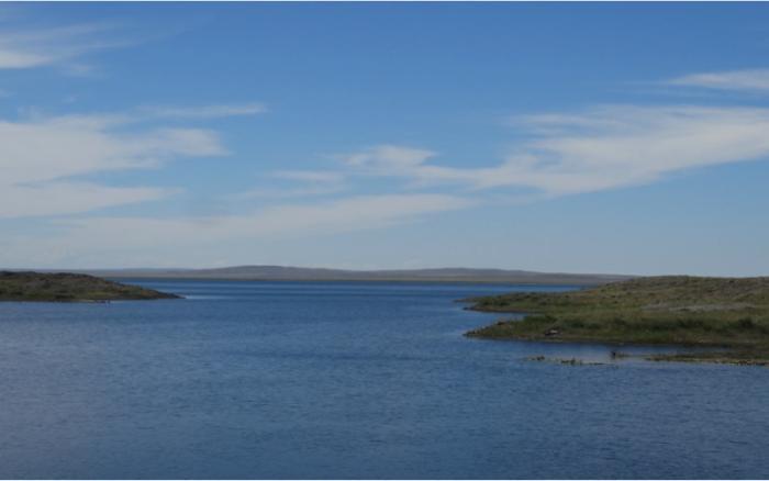 Чаган: самое радиоактивное озеро в мире -4 фото + видео-