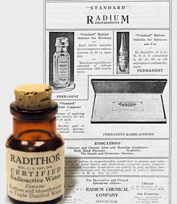 8 радиоактивных изделий, которые наши предки использовали в ежедневном обиходе