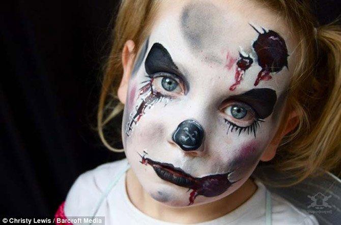 Детский боди-арт на лице
