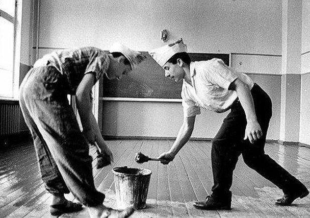 Вредные и полезные привычки из СССР-11 фото-