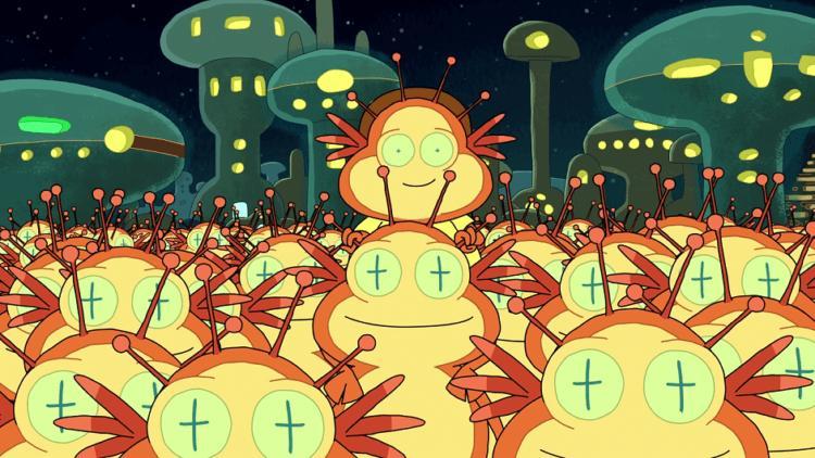 Какими могут быть инопланетяне? -2 фото-