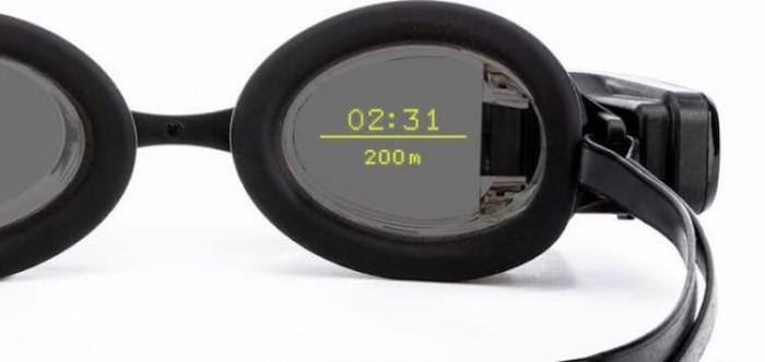 Созданы очки дополненной реальности для плавания -3 фото + видео-