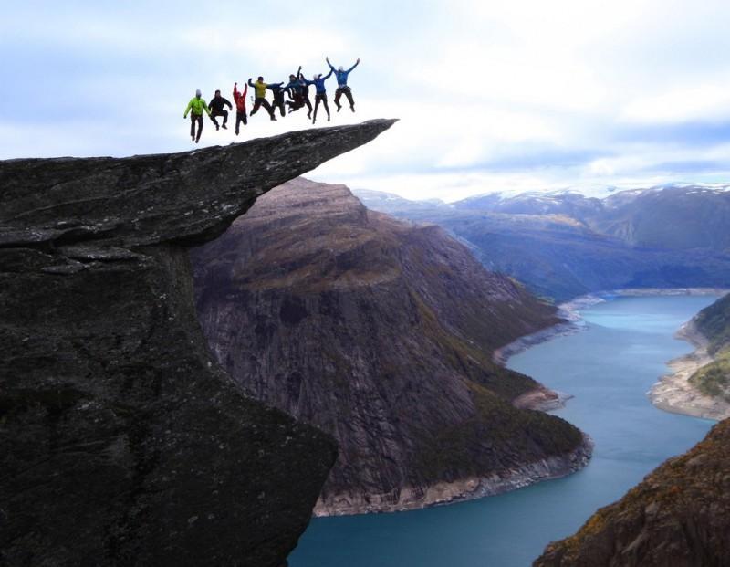 Захватывающие дух -высотные- фотографии