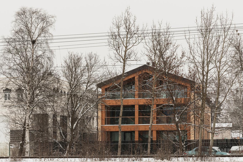 Необычный дизайн офисного здания под Петербургом Интересное