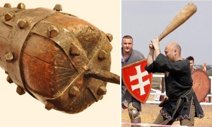 Оружие былинных богатырей: что представлял из себя древнерусский ослоп Интересное