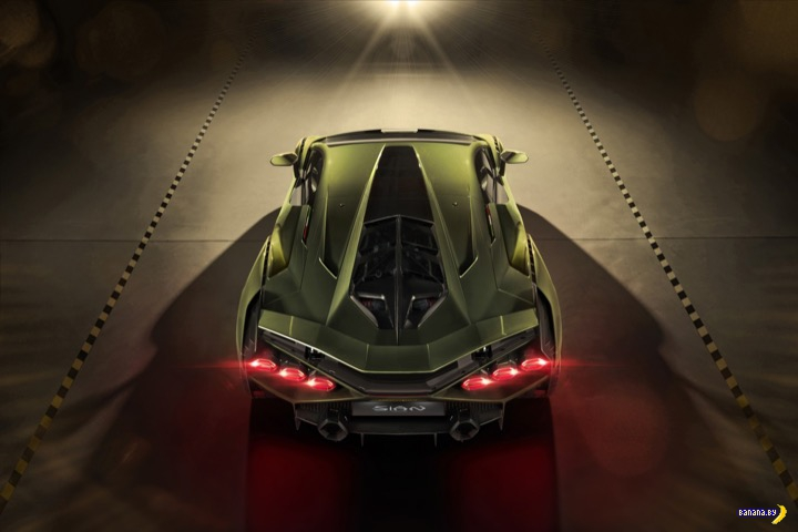 Lamborghini Si&225;n - гиперкар на суперконденсаторах