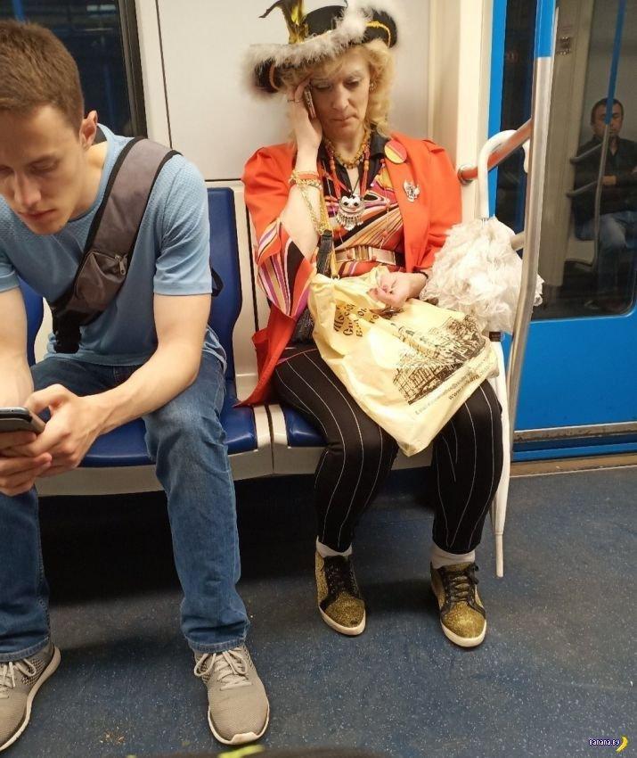 Модники в метро - 26