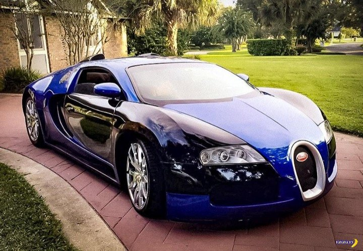 Взял и слепил себе Bugatti Veyron! Интересное