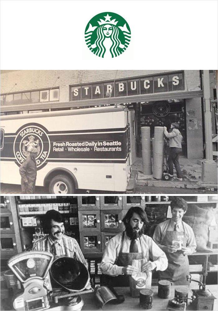 Первая продукция известных брендов
