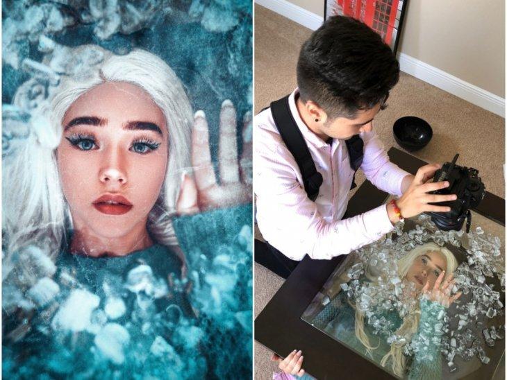 Как делают красивые и загадочные фотографии для Instagram