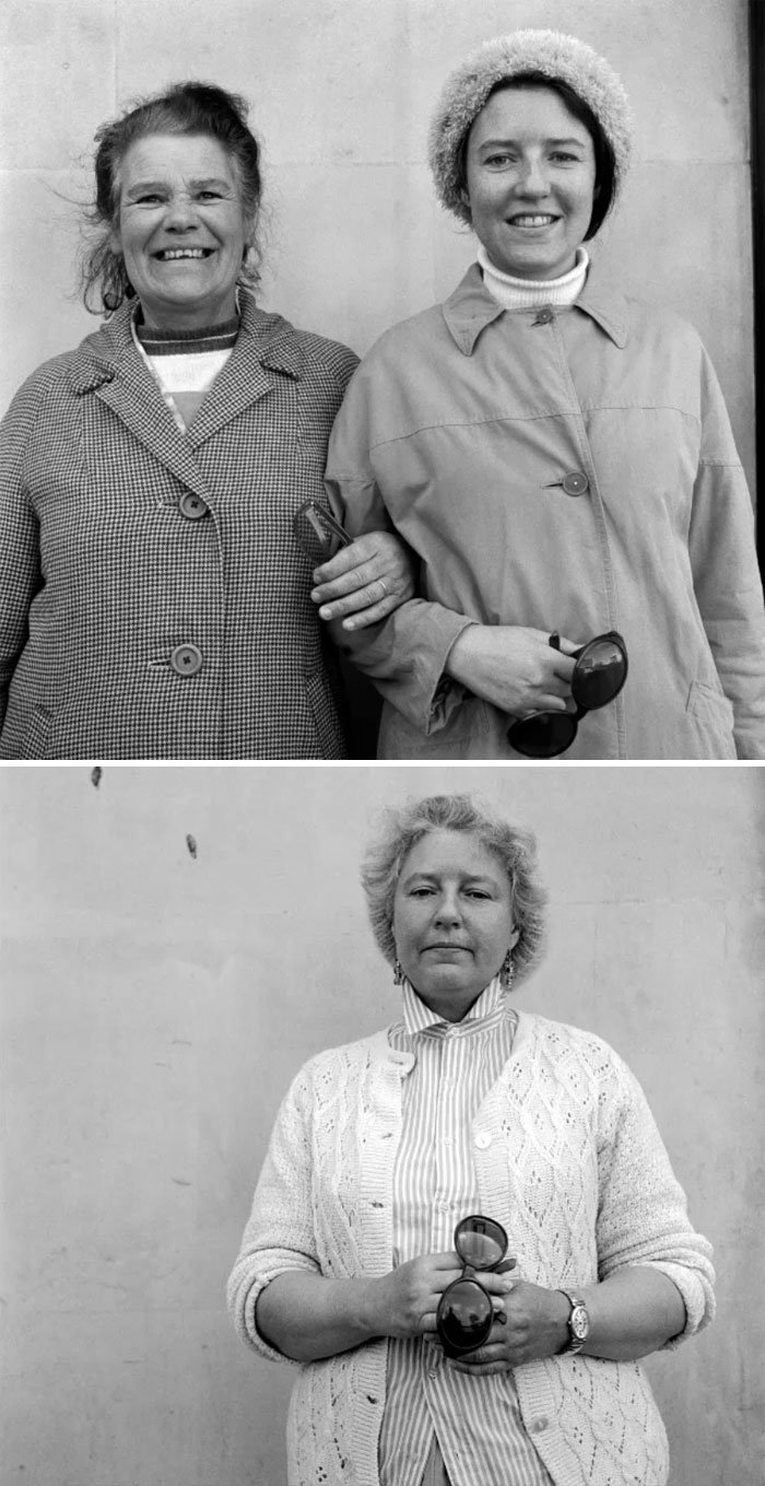 Фотограф сделал фотографии незнакомцев в 1970-х, а через 20 лет, снова нашел их Интересное