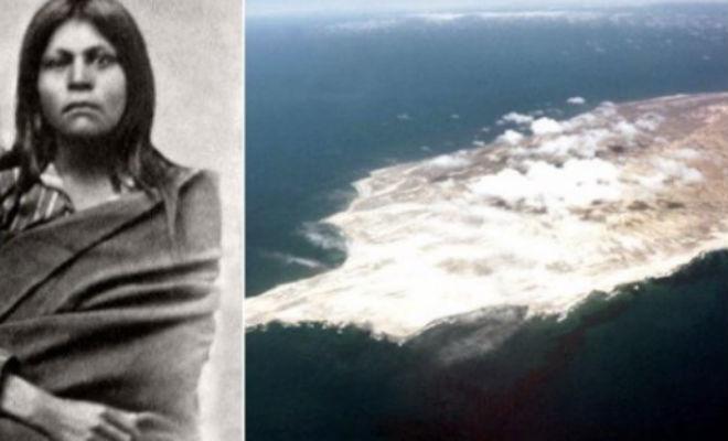 Женщину случайно оставили на необитаемом острове: она там жила 18 лет -6 фото + видео-