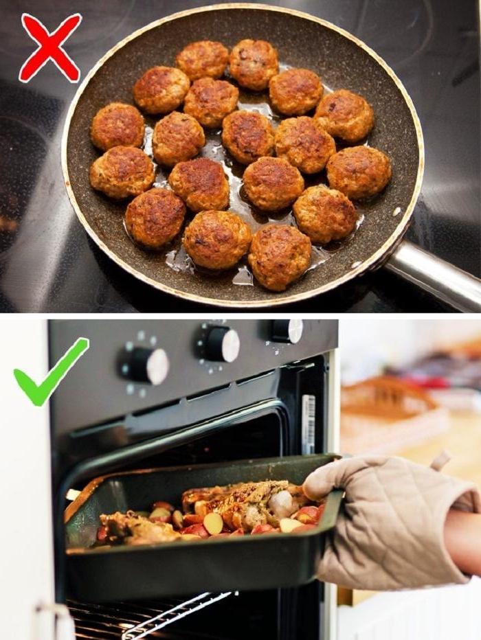 Советы, которые помогут вам в два раза меньше времени проводить на кухне: не все овощи нужно чистить, а чешую на рыбе можно удалить с помощью простой ложки